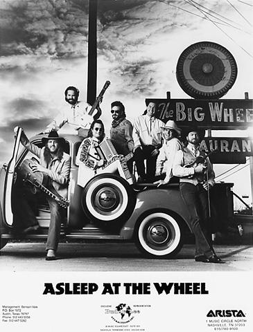 Asleep at the Wheel Promo Print