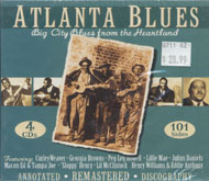 Atlanta Blues: Big City Blues From The Heartland CD