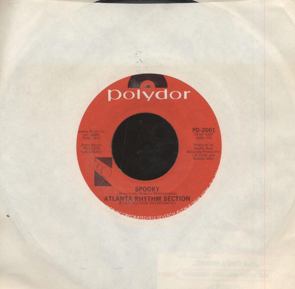 atlanta rhythm section vinyl 7 used 1979 at wolfgang 39 s. Black Bedroom Furniture Sets. Home Design Ideas