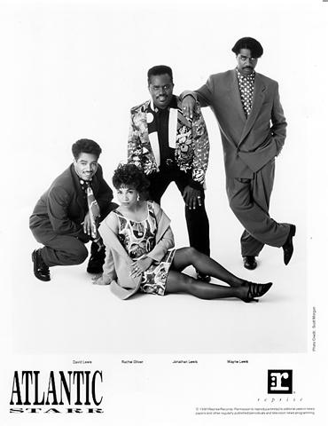Atlantic Starr Promo Print