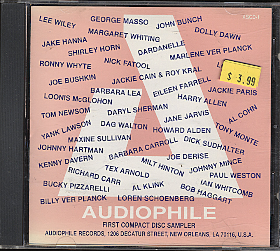 Audiophile: First Compact Disc Sampler CD