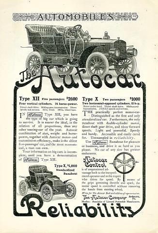 Autocar: Type VII Vintage Ad