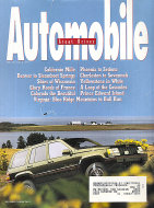 Automobile Great Drives Magazine