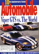 Automobile Magazine April 1996 Magazine
