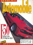 Automobile Vol. 10 No. 8 Magazine