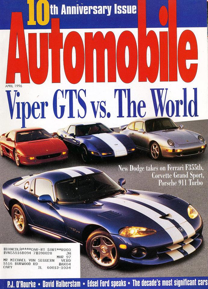 Automobile Vol. 11 No. 1