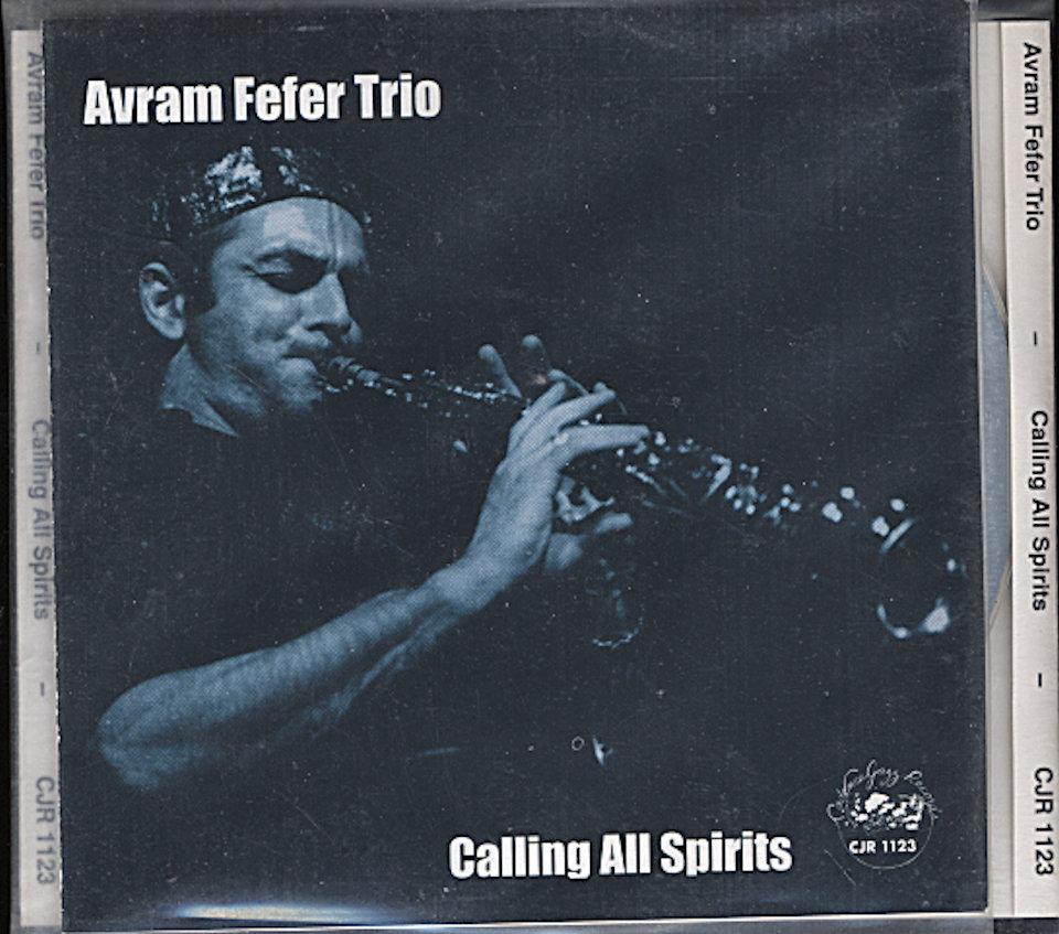 Avram Fefer Trio CD