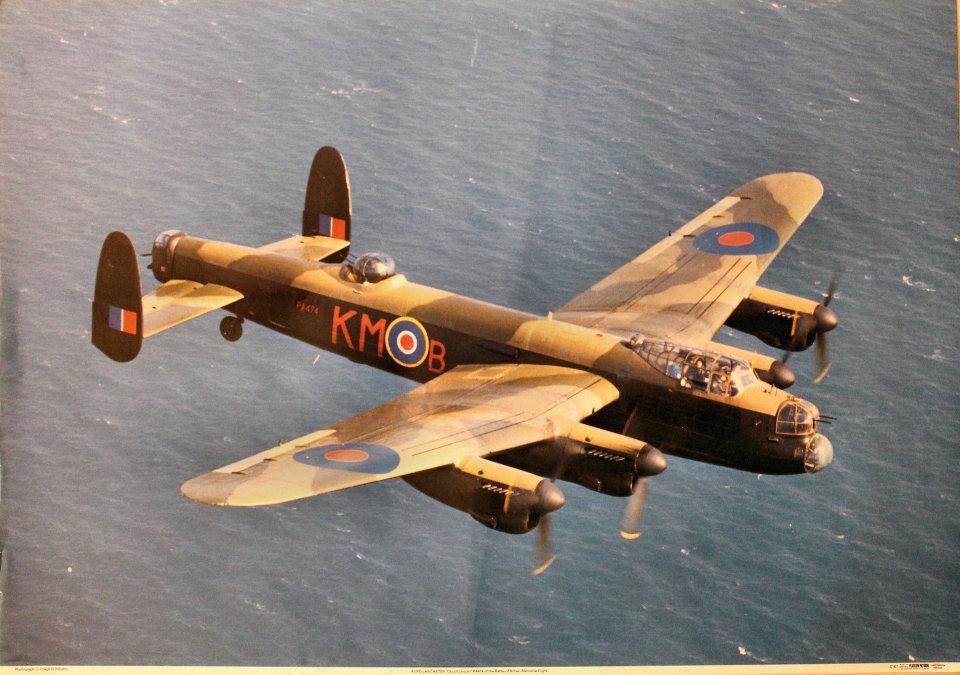 Avro Lancaster 'City of Lincoln' Poster