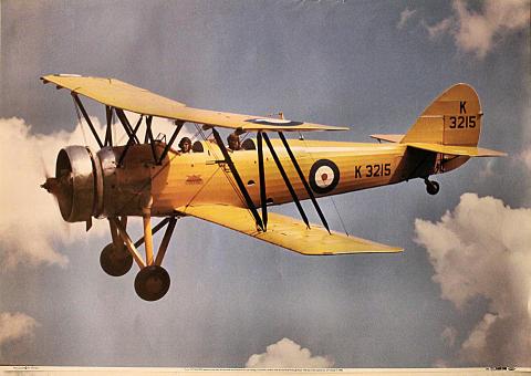 Avro Tutor K3215 Poster