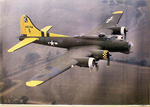 B-17G 'Sally G' Poster