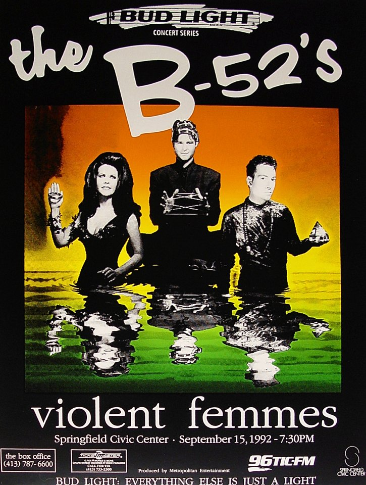 B-52's Poster