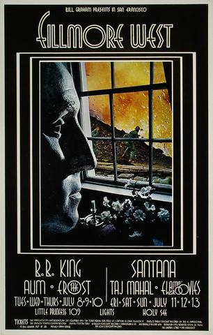 B.B. King Poster