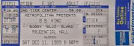 B.B. King Vintage Ticket