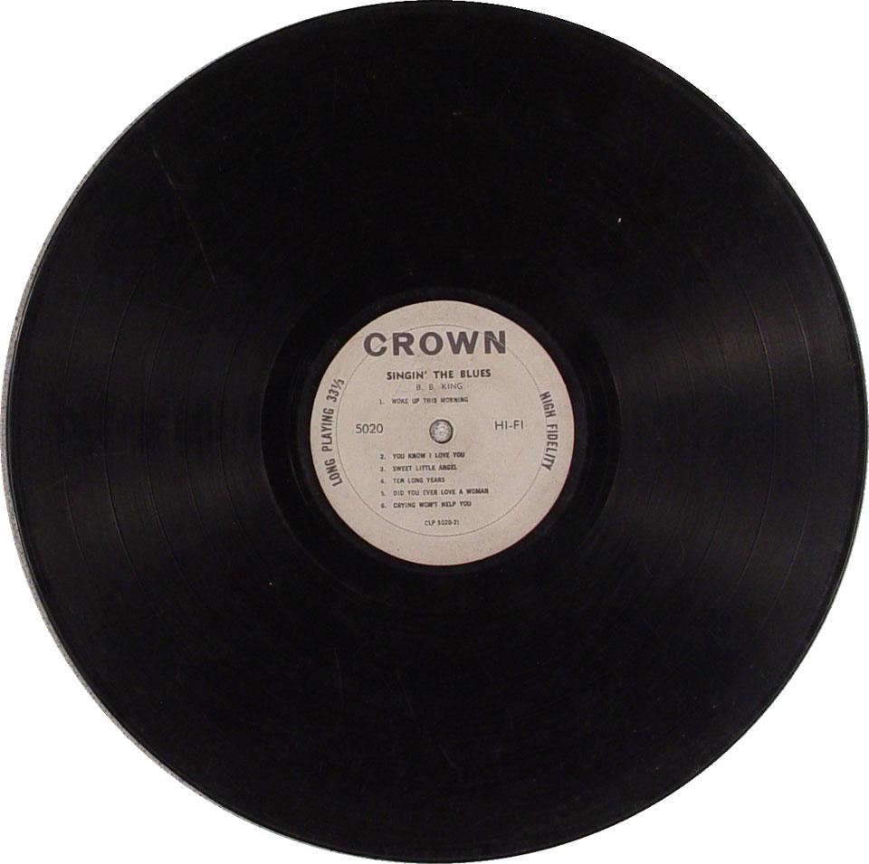 "B.B. King Vinyl 12"" (Used)"