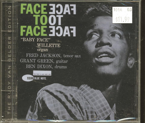 """Baby Face"" Willette CD"