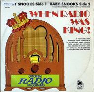 "Baby Snooks With Fanny Brice Vinyl 12"" (Used)"