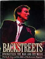 Backstreets: Springsteen The Man and His Music Book