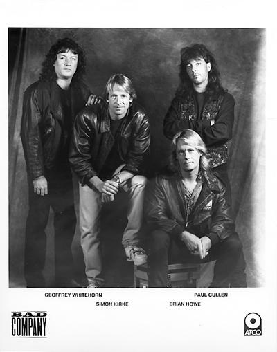 Bad Company Promo Print