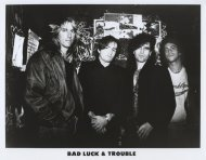 Bad Luck & Trouble Promo Print