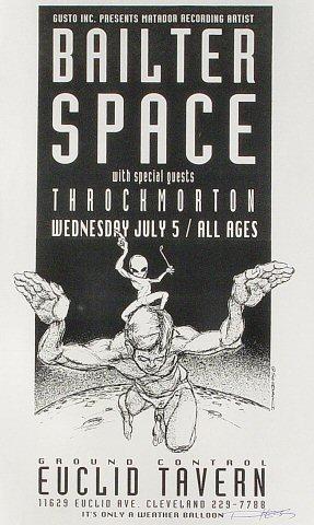 Bailter Space Handbill