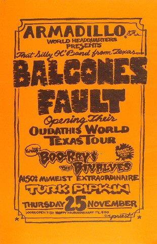 Balcones Fault Poster