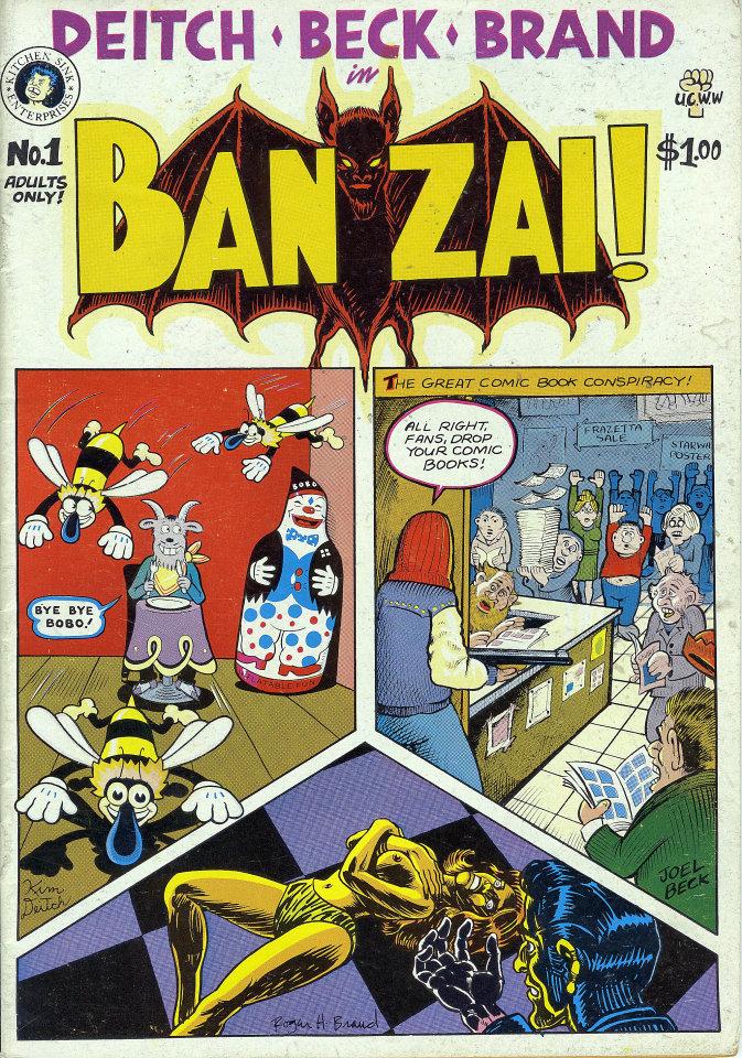 Ban Zai! No. 1 Comic Book