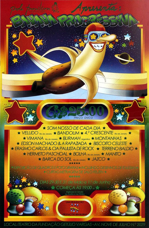 Banana Progressyva Festival Poster