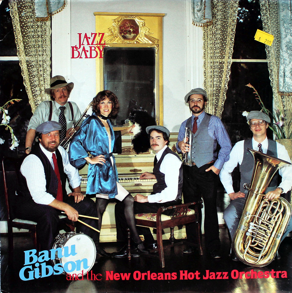 "Banu Gibson And The New Orleans Hot Jazz Orchestra Vinyl 12"" (Used)"