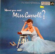 "Barbara Carroll Trio Vinyl 12"" (Used)"