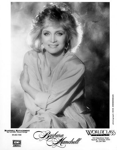 Barbara Mandrell Promo Print