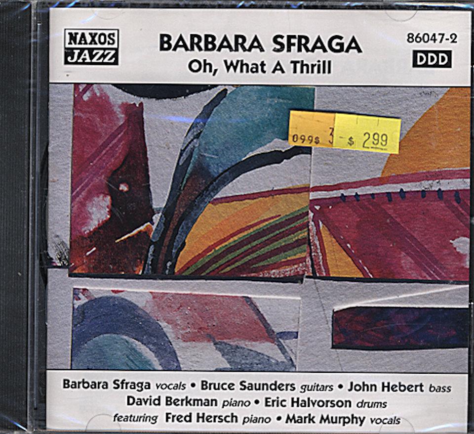 Barbara Sfraga CD