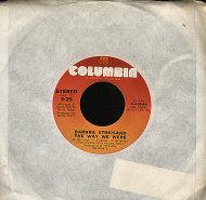 """Barbra Streisand Vinyl 7"""" (Used)"""