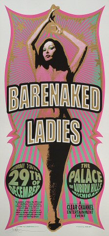 Barenaked Ladies Poster