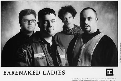 Barenaked Ladies Promo Print