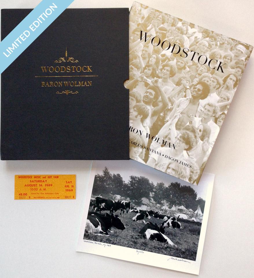 Baron Wolman: Woodstock reverse side