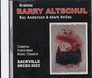 Barry Altschul Trio CD