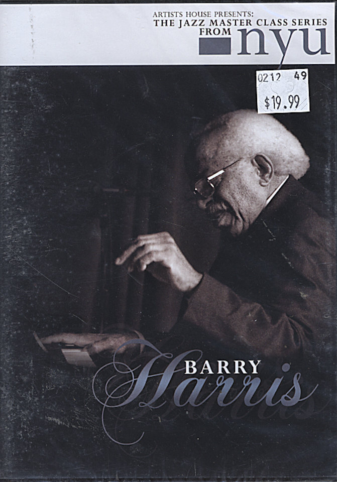 Barry Harris DVD