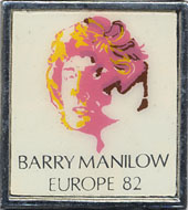 Barry Manilow Pin