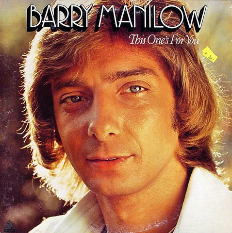 "Barry Manilow Vinyl 12"" (Used)"