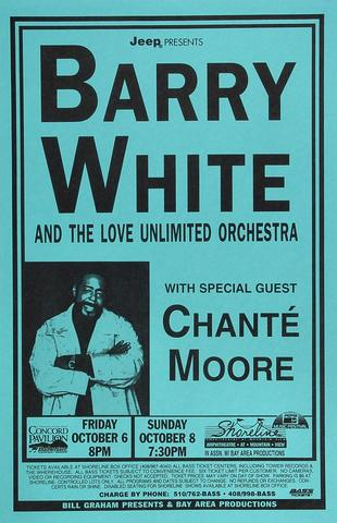 Barry White & the Love Unlimited Orchestra Poster