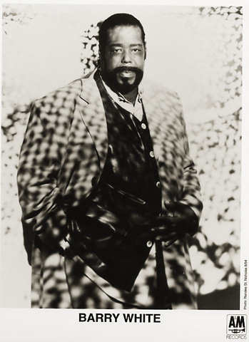 Barry White Promo Print