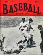 Baseball Magazine October 1943 Magazine
