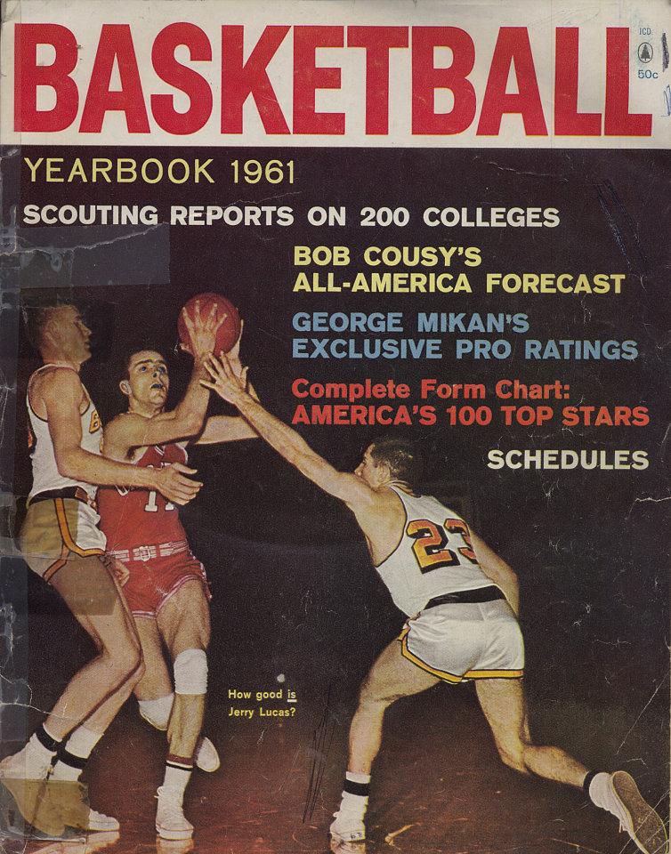Basketball Yearbook 1961 Magazine 1961 At Wolfgang S