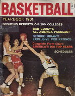 Basketball Yearbook 1961 Magazine