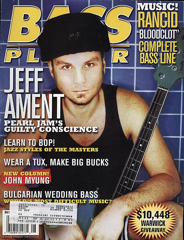 Bass Player Aug 1,1998