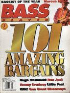 Bass Player Magazine December 1995 Magazine