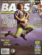 Bass Player Magazine December 1996 Magazine