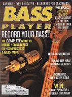Bass Player Magazine November 1998 Magazine