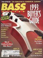 Bass Player Nov 1,1992 Magazine