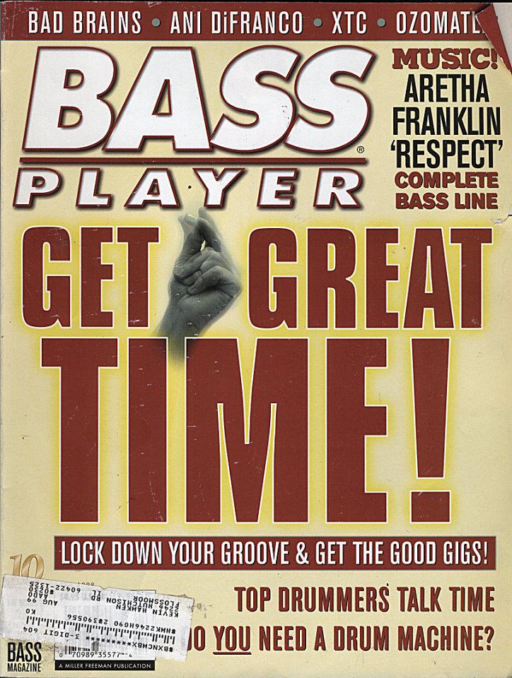 Bass Player Vol. 10 No. 4